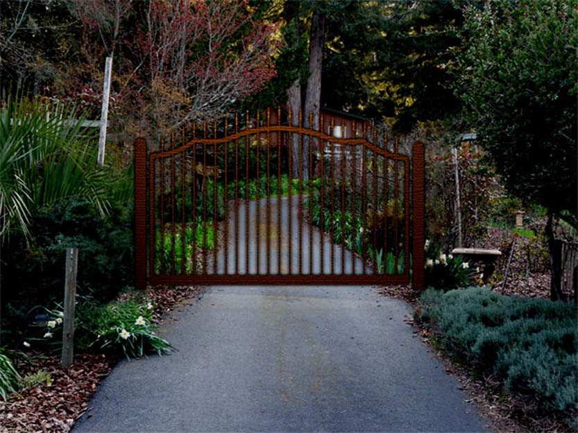 Iron Gate Garden Gate Designs
